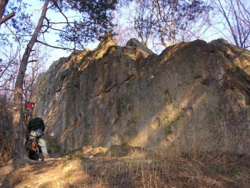 Skalka u Hostivařské přehrady