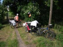 Cyklostezka Odra-Nisa za Zhořelcem