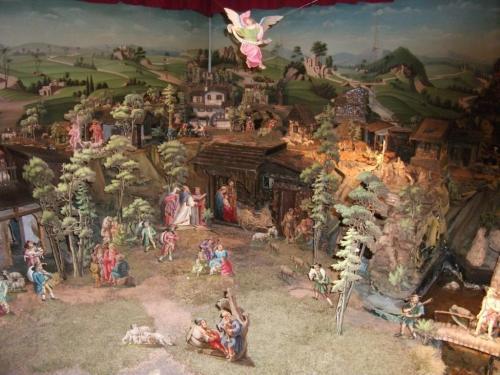 Betlémy v Kryštofově Údolí: Fotografie nedokáže zachytit to, že většina figurek se hýbe.