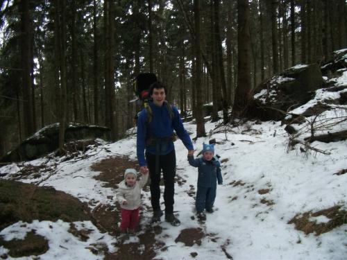 První jarní výlet: Na Bukové hoře.