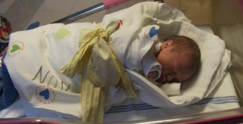 Barbora v porodnici: Barbora v dárkovém balení.