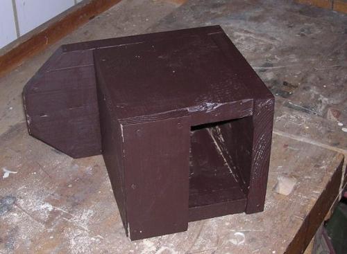 Budka pro rehky, lejsky a konipasy - hotový výrobek