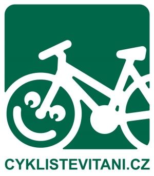 Logo: Cyklisté vítáni