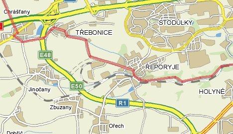 Cyklotrasa Kladno - Hodkovičky II: část Chrášťany - Řeporyje - Dalejské údolí - Prokopské údolí
