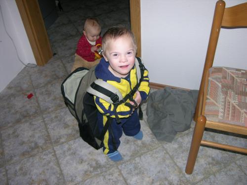 Ondřej s batohem vyráží do světa