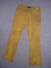 Kalhoty po obarvení