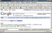 Google našeptávač