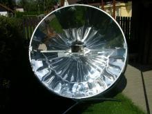 Vaření na solárním vařiči